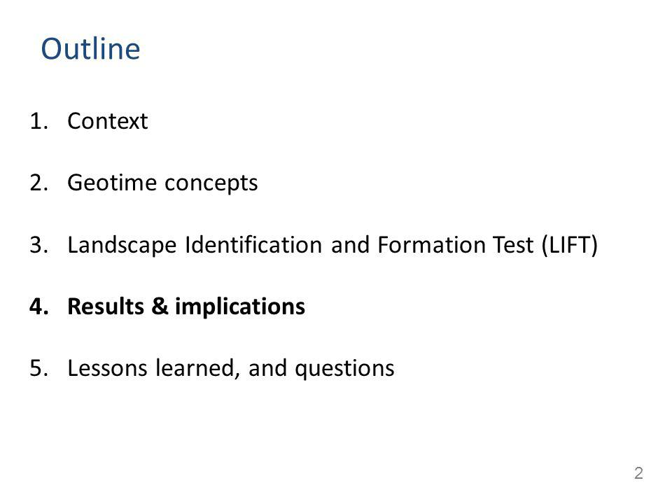 3 Context Concept tests: used increasingly in several disciplines – To measure learning gains (in a course or module) – To compare students, pedagogies, etc.
