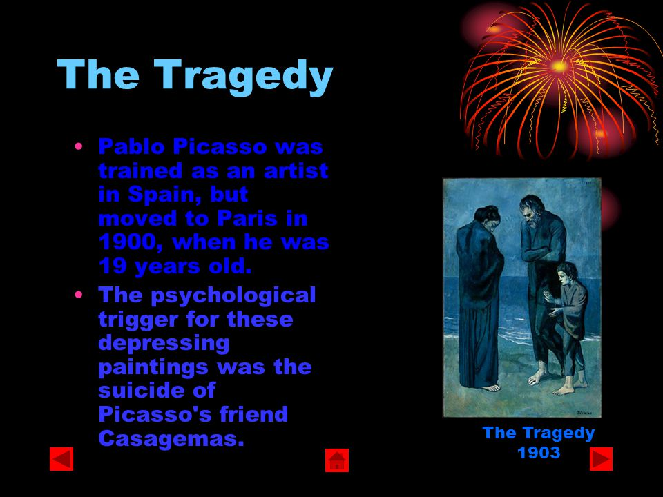 Pablo Picasso The Colour Periods The Blue Period The Tragedy La Vie La Celestina