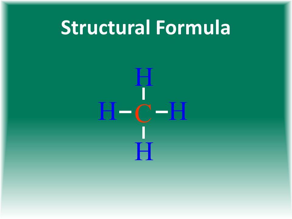 Structural Formula H C H H H