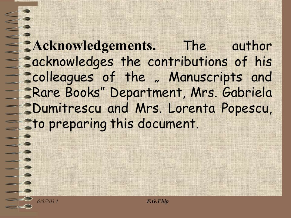 Acknowledgements.