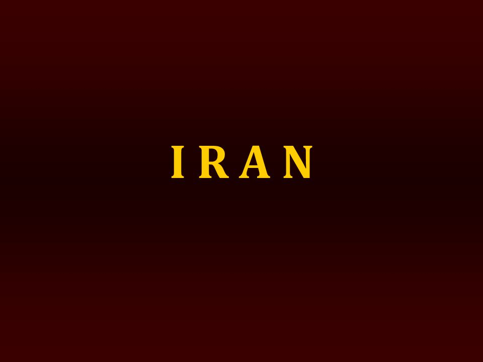 TEHRAN Tehran – the capital of Iran and one of the largest metropolitans of the world.