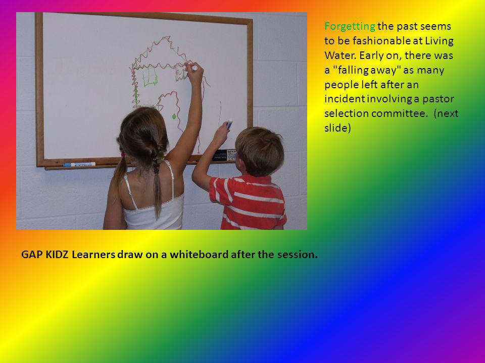 Vacation Bible School Learner turns the evangelical color wheel.