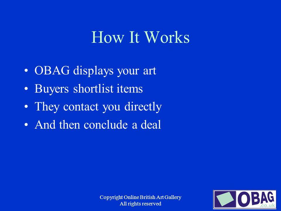 Copyright Online British Art Gallery All rights reserved Online British Art Gallery The Fast Way to Find Art