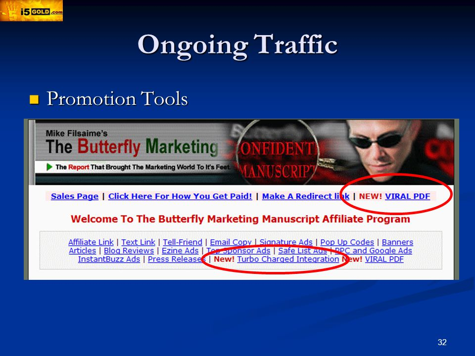 32 Ongoing Traffic Promotion Tools Promotion Tools