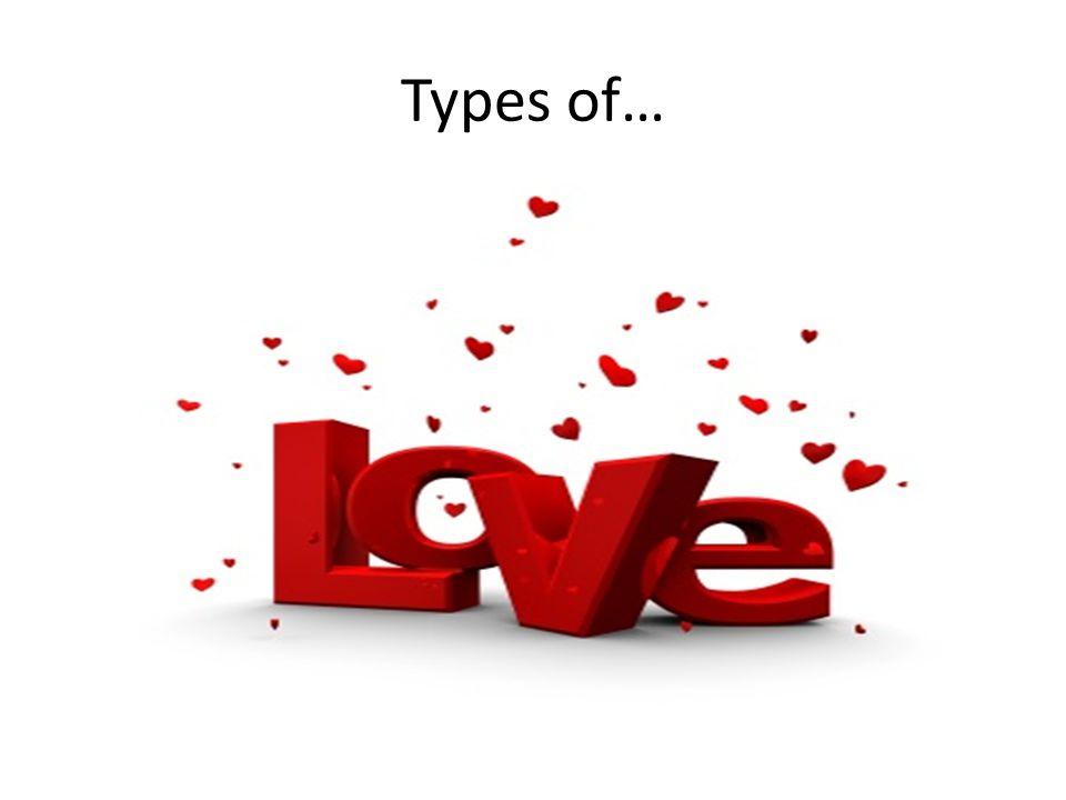 Types of…