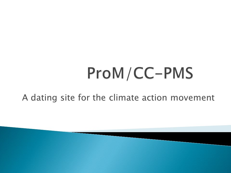 A dating site for the climate action movement