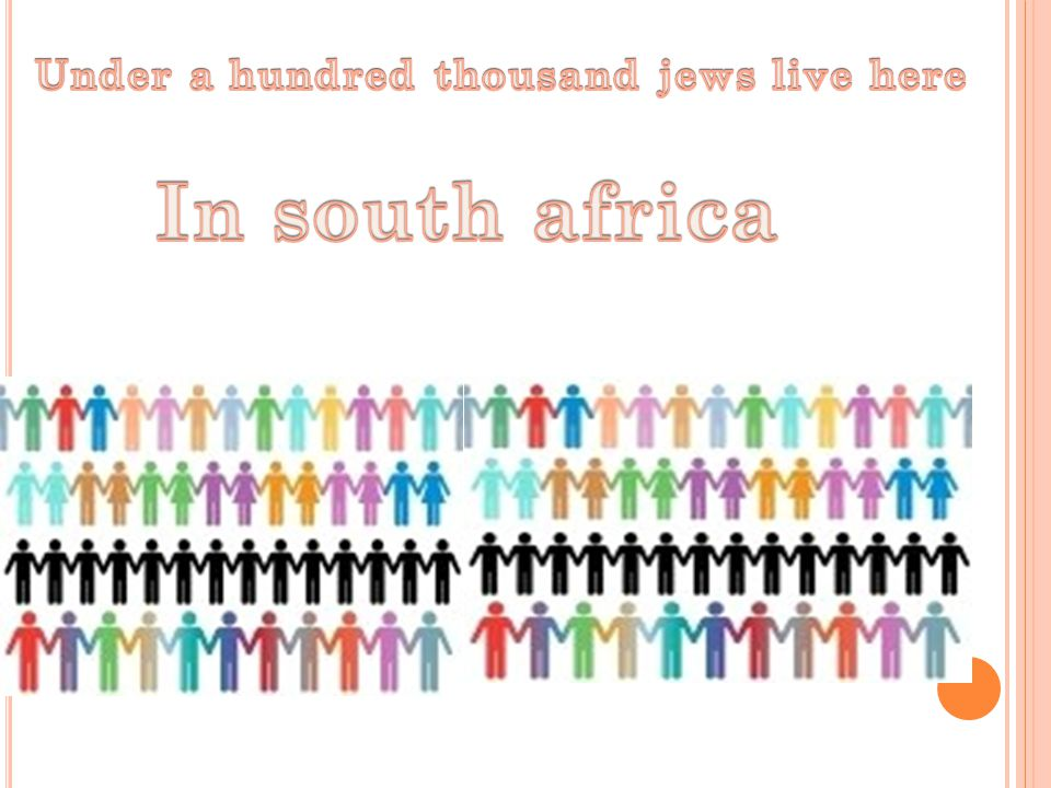 Some Jewish communities in Africa are among the oldest in the world, dating back more than 2700 years.