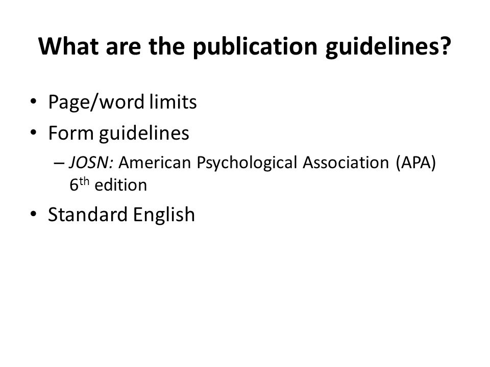 Universal Elements of all publications Literary writing Beginning – What is the problem.