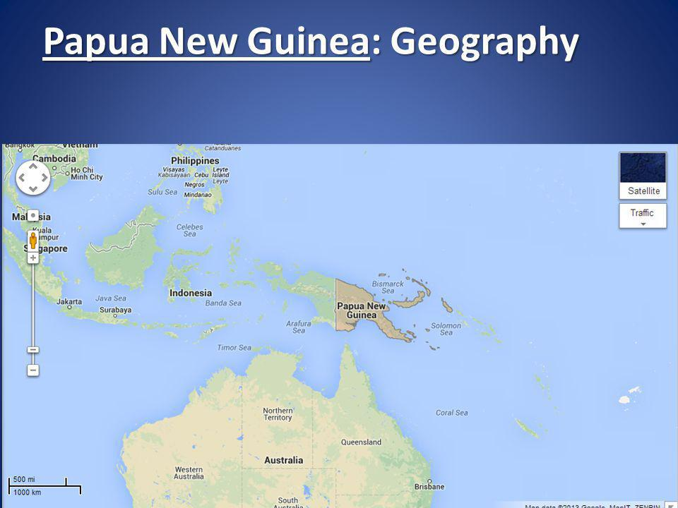 Papua New Guinea: Geography