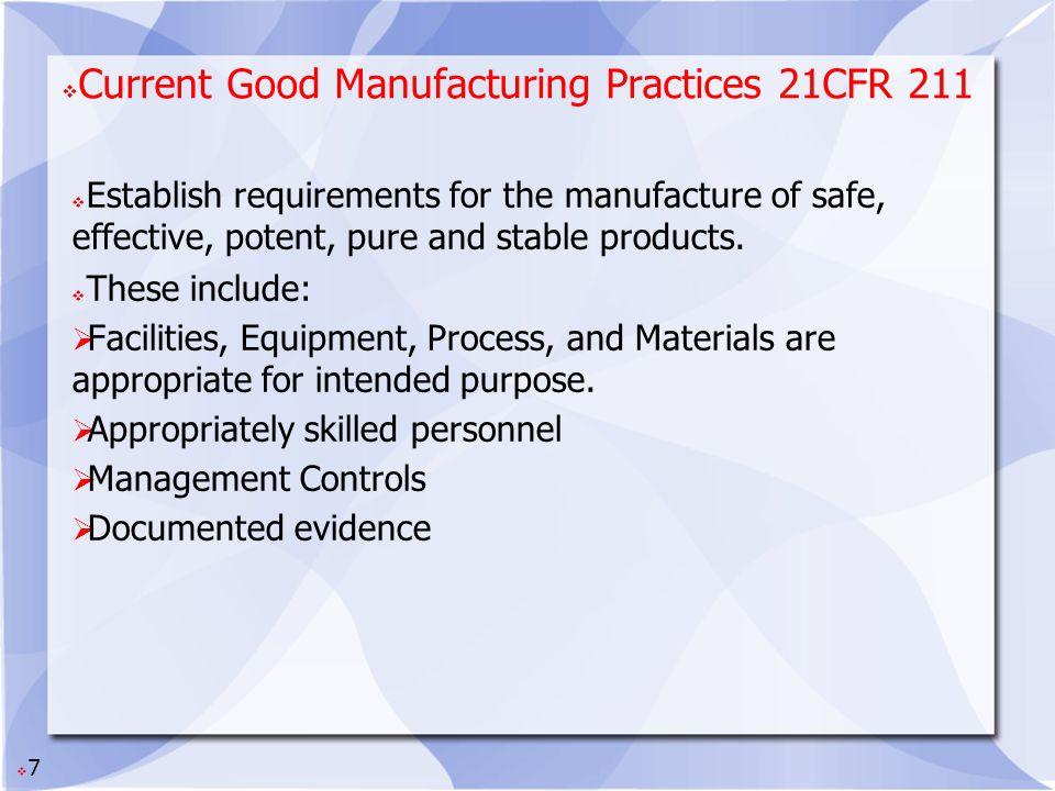 8 Typical Quality Unit Quality Control + Quality Assurance __________________ Quality Unit