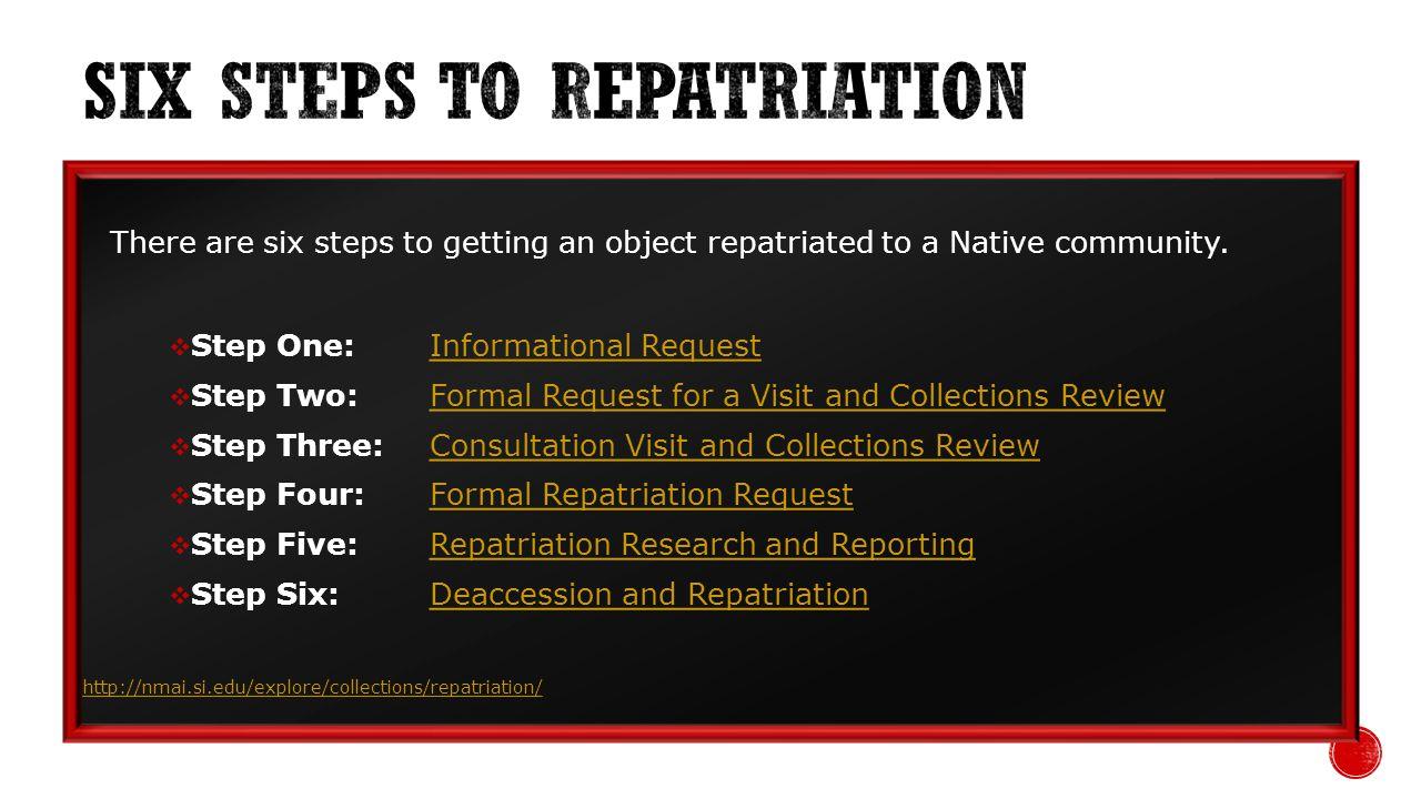 http://www.penn.museum/nagpra.html http://digitalcommons.unl.edu/cgi/viewcontent.cgi?article=1037&context=historydiss http://www.repatriationfoundation.org/pdf/mending%20the%20circle/CoverBeginning.p df http://www.repatriationfoundation.org/pdf/mending%20the%20circle/CoverBeginning.p df http://cool.conservation-us.org/waac/wn/wn22/wn22-2/wn22-207.html http://www.spnhc.org/media/assets/cofo_2001_V17N12.pdf http://www.natcconference.com/conference-archives/oaxaca-2011/oaxaca-2011- program/program-papers-oax-2011.html http://www.natcconference.com/conference-archives/oaxaca-2011/oaxaca-2011- program/program-papers-oax-2011.html http://www.nps.gov/archeology/tools/laws/NAGPRA.htm http://search.usa.gov/search?affiliate=indianaffairs&query=NAGPRA&sa.x=0&sa.y=0
