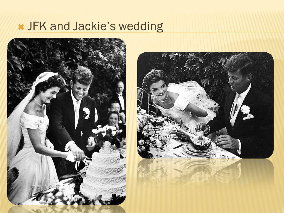 JFK and Jackies wedding