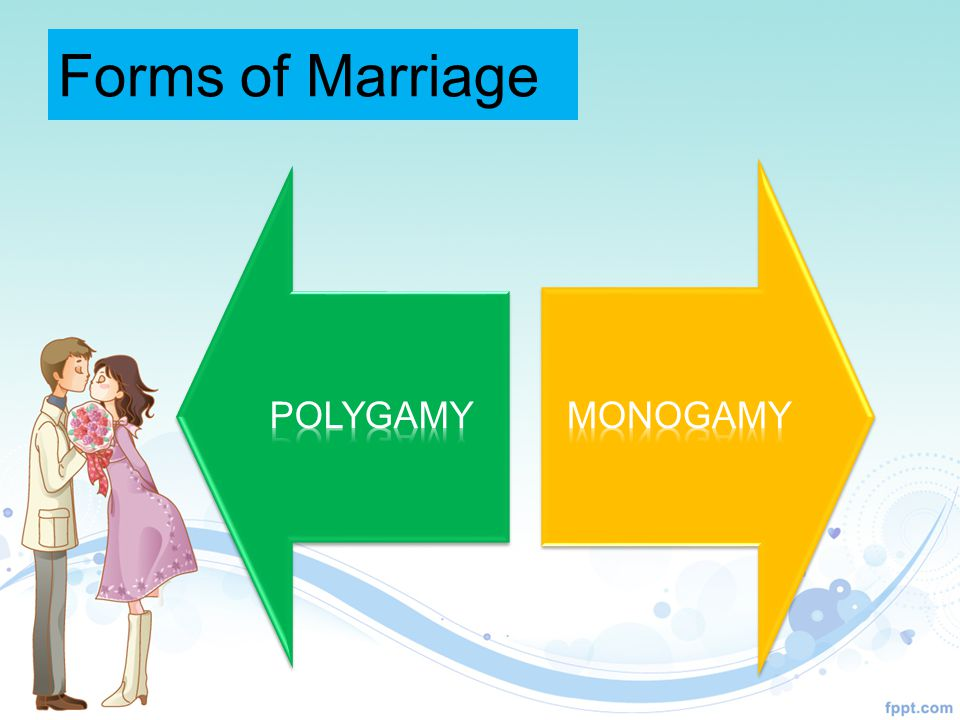 Forms of Marriage