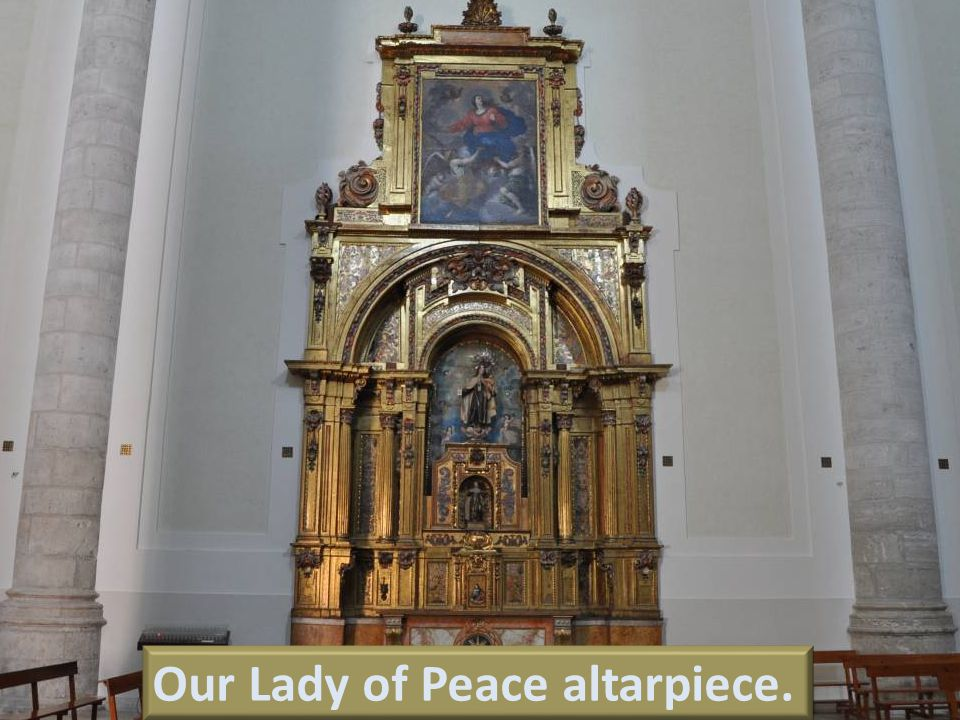 Our Lady of Peace Altarpiece.