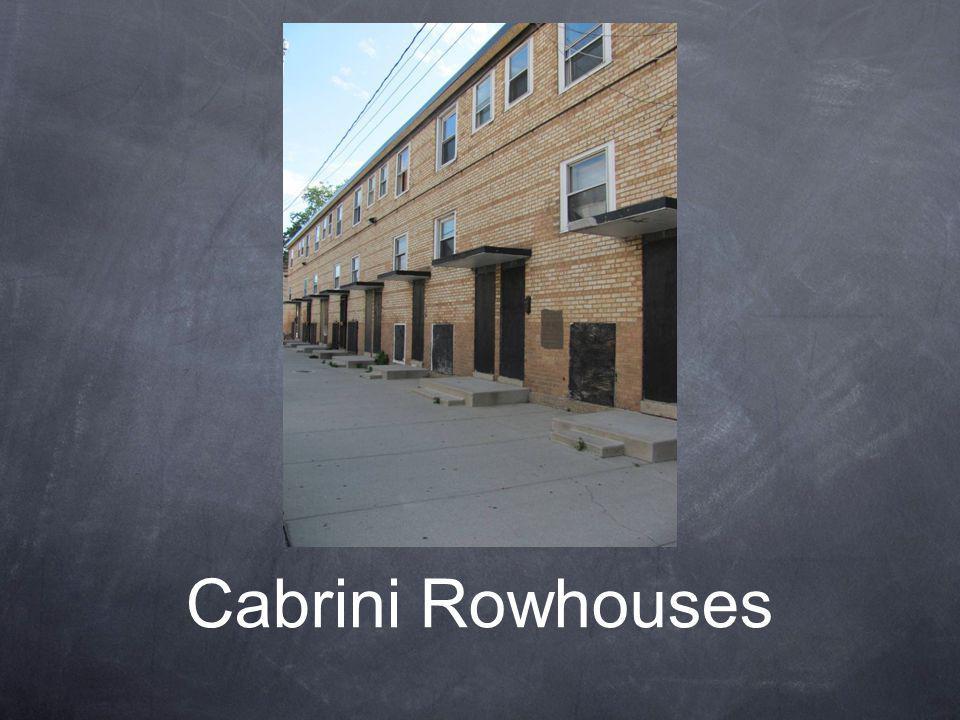 Cabrini Rowhouses
