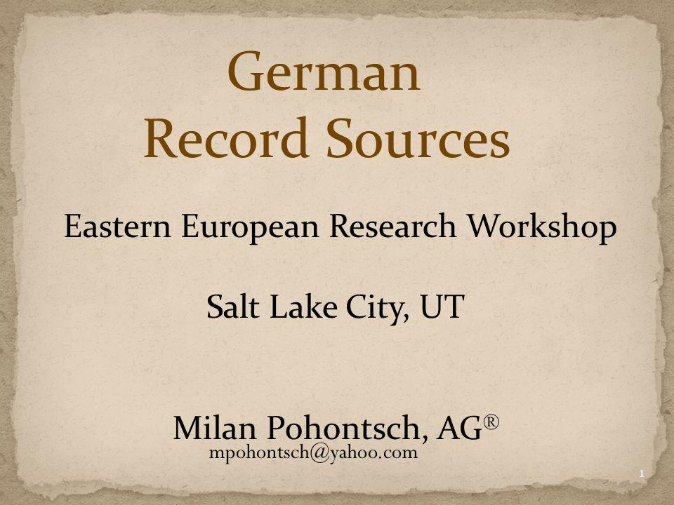 Societies Regional information sources 12