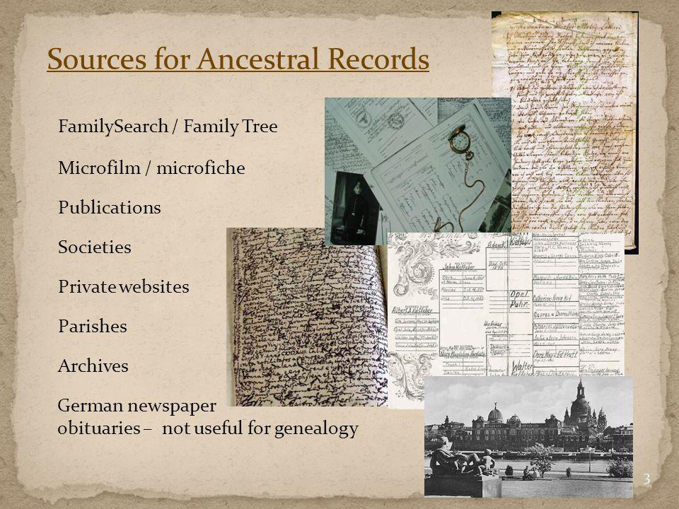 FamilySearch (Family Tree) 4