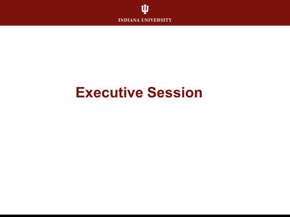 Executive Session