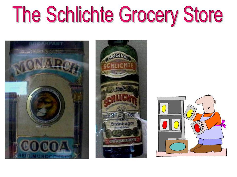Frederick Schlichte Martha Schlichte Emigrated to the US in 1870.