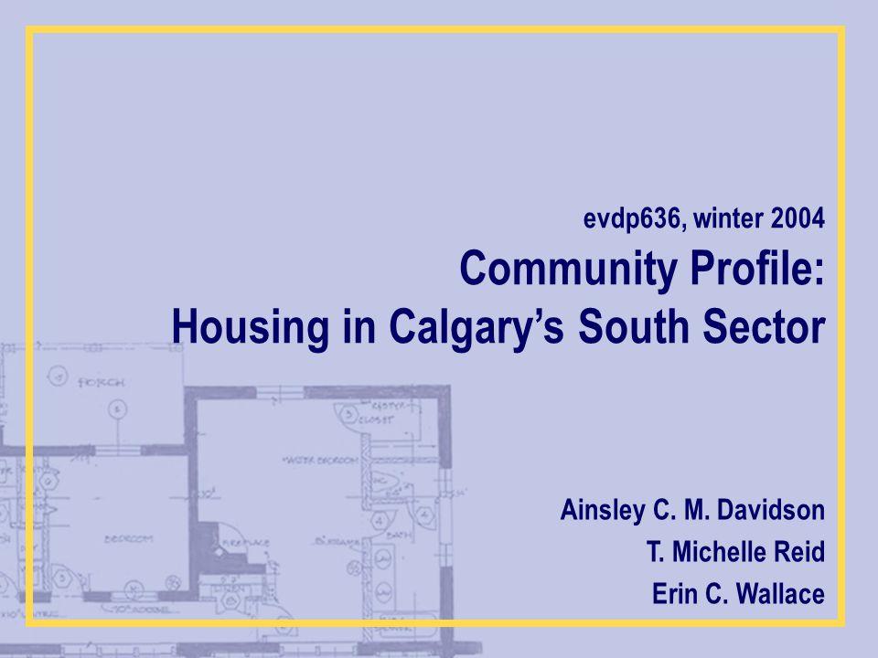 Community Profile: Ainsley C. M. Davidson T. Michelle Reid Erin C.