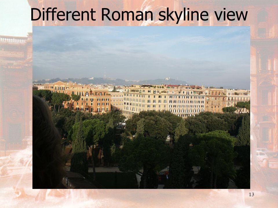12 Rome skyline