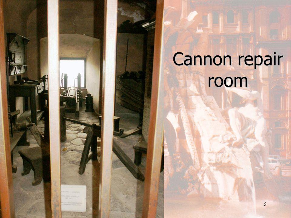 Pope Paul IIIs bedroom in the Castel Sant Angelo 7