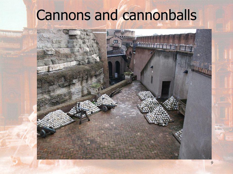 8 Cannon repair room