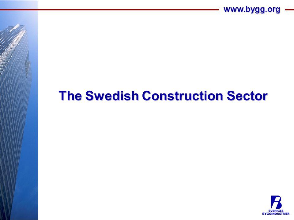 www.bygg.org The Swedish Construction Sector