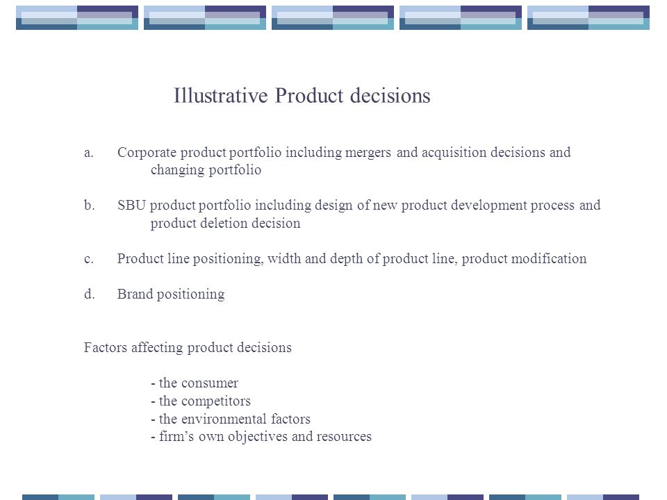 Products, New Product Development Process, Branding
