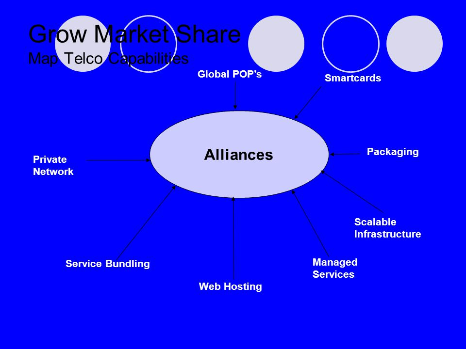Private Network Service Bundling Call Centre Managed Services Packaging Grow Market Share Map Telco Capabilities Alliances Smartcards Global POPs Web Hosting Scalable Infrastructure