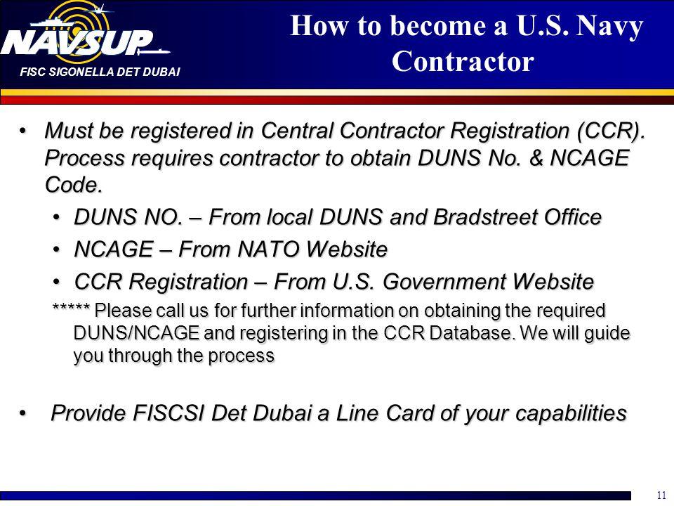 FISC SIGONELLA DET DUBAI 11 How to become a U.S.