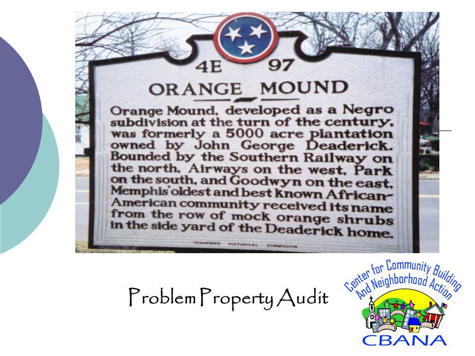 Problem Property Audit