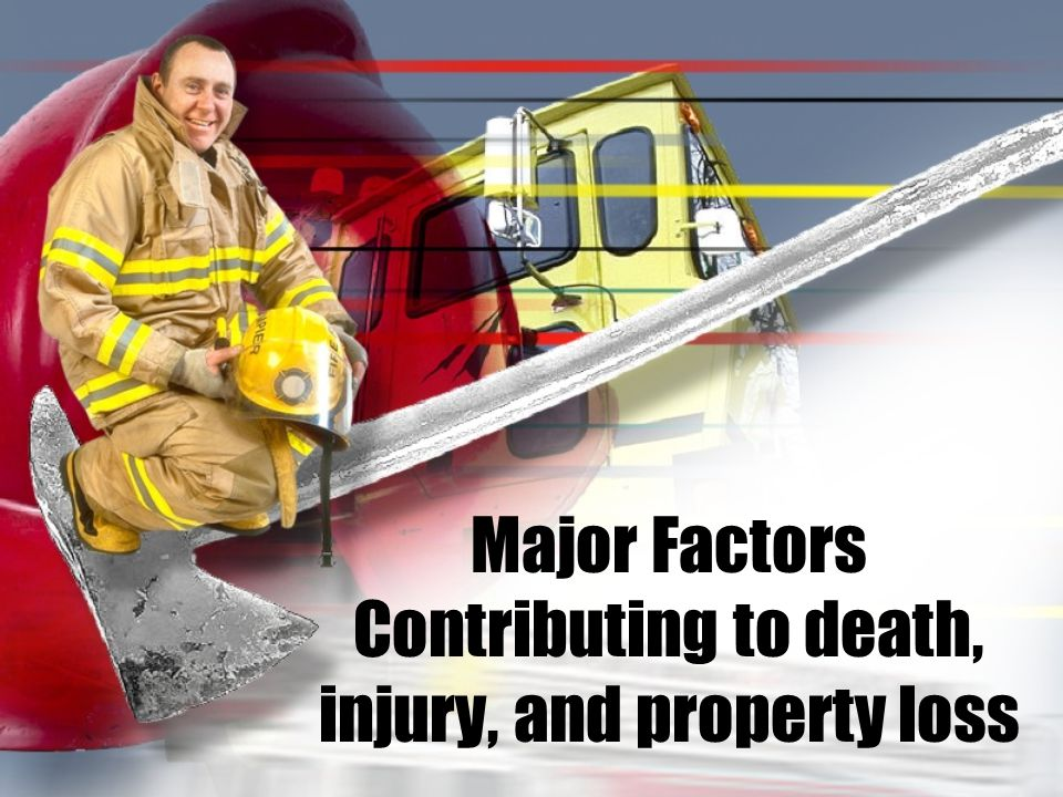 Major Factors Contributing to death, injury, and property loss