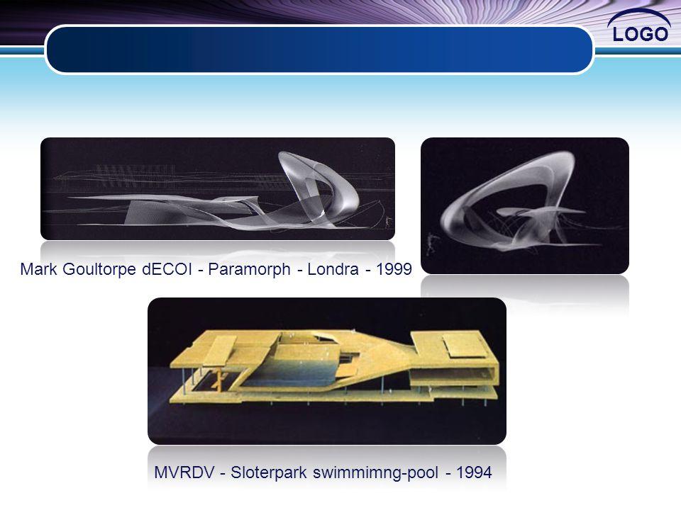 LOGO Mark Goultorpe dECOI - Paramorph - Londra - 1999 MVRDV - Sloterpark swimmimng-pool - 1994