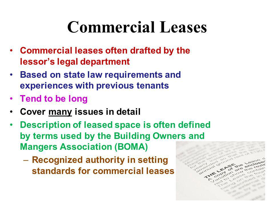 Rights/Duties of a Tenant Right of possession during lease Can exclude other parties Landlord must make essential repairs or may have constructive evi