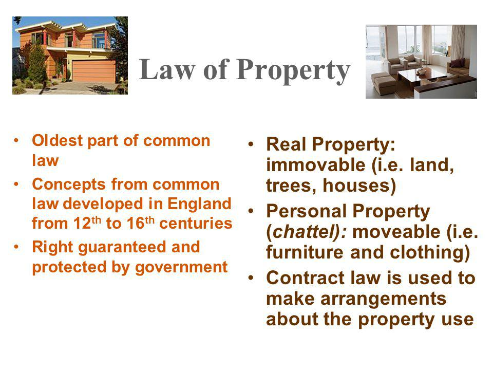 Covenants Covenants or Covenant Running With the Land –Not actual legal interest in an estate –More like a contract with an estate –Most residential subdivisions have covenants –May burden or benefit the land –Tool for developing real estate –Goes with the estate from owner to owner Covenant runs with the land