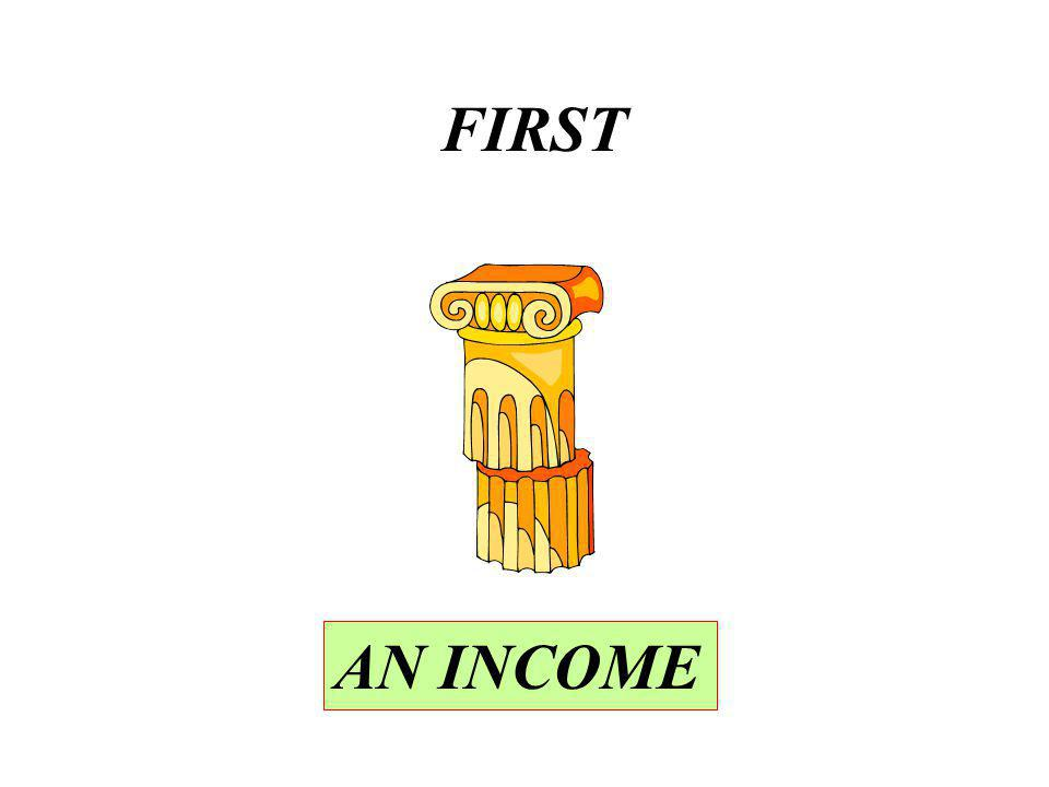 FIRST AN INCOME