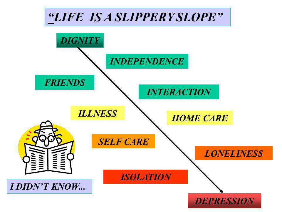 DIGNITY INDEPENDENCE HOME CARE SELF CARE ISOLATION DEPRESSION INTERACTION ILLNESS LONELINESS FRIENDS I DIDNT KNOW...