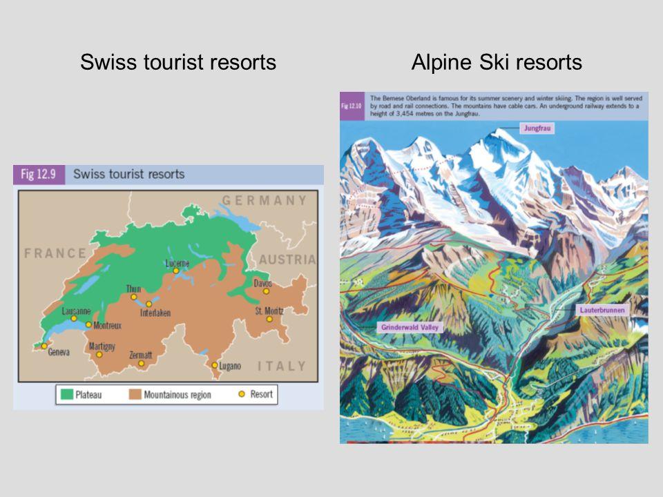 Swiss tourist resortsAlpine Ski resorts