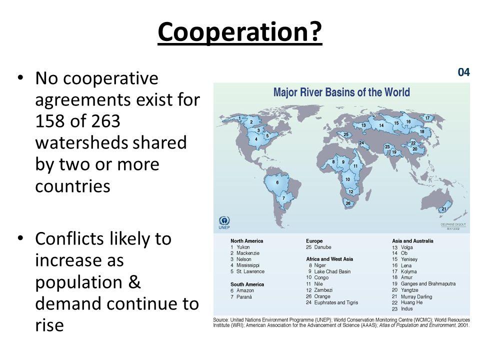 Cooperation.