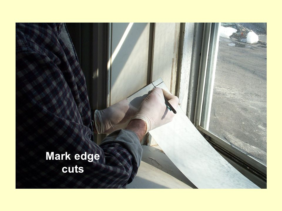 Mark edge cuts