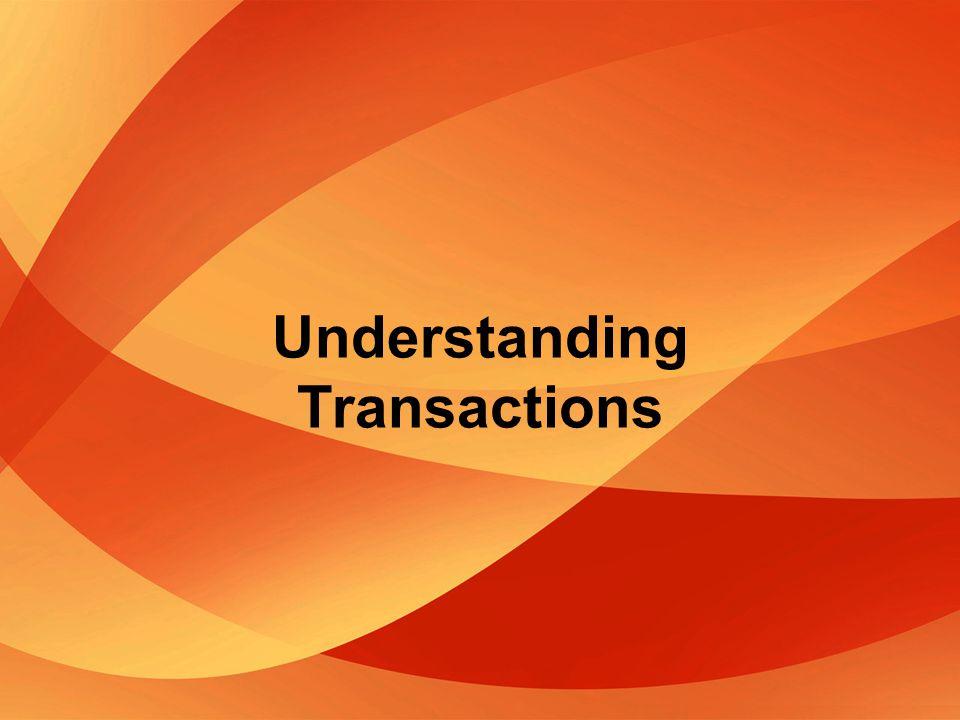 Understanding Transactions