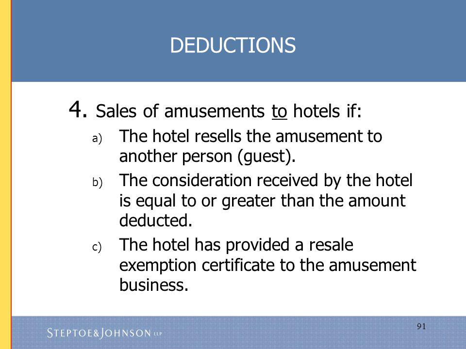 91 DEDUCTIONS 4.
