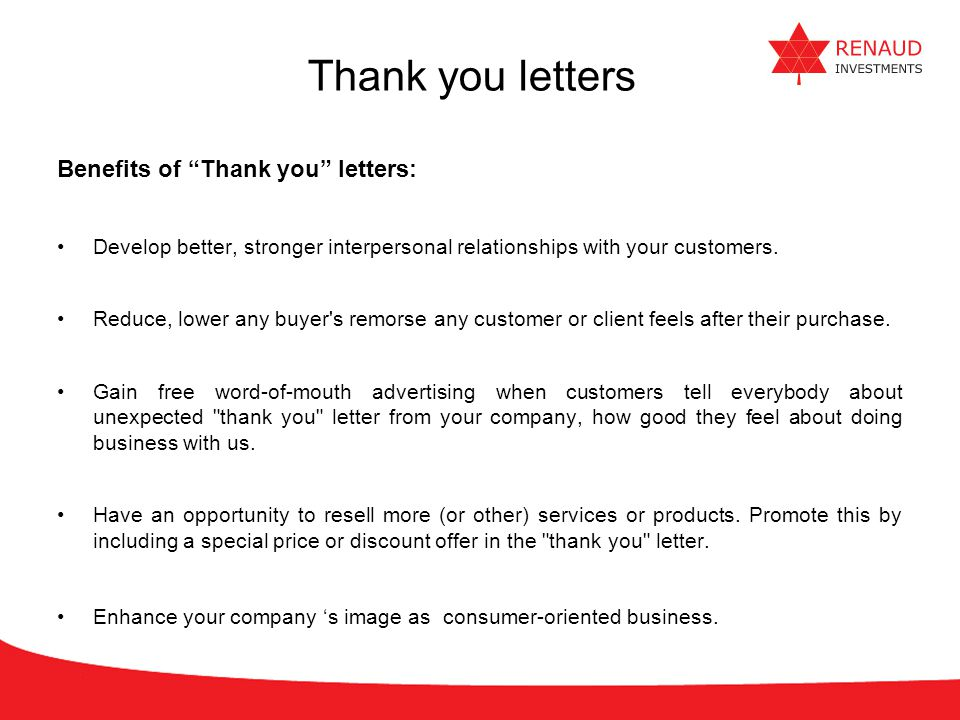 thank you letter after purchase Oylekalakaarico
