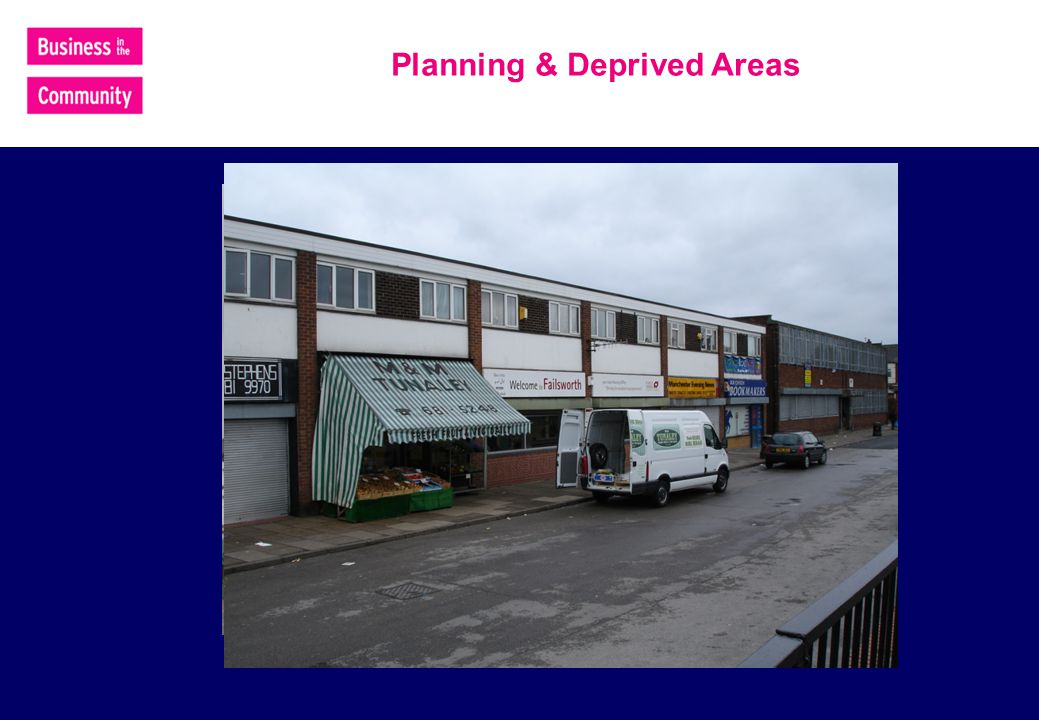 Planning & Deprived Areas