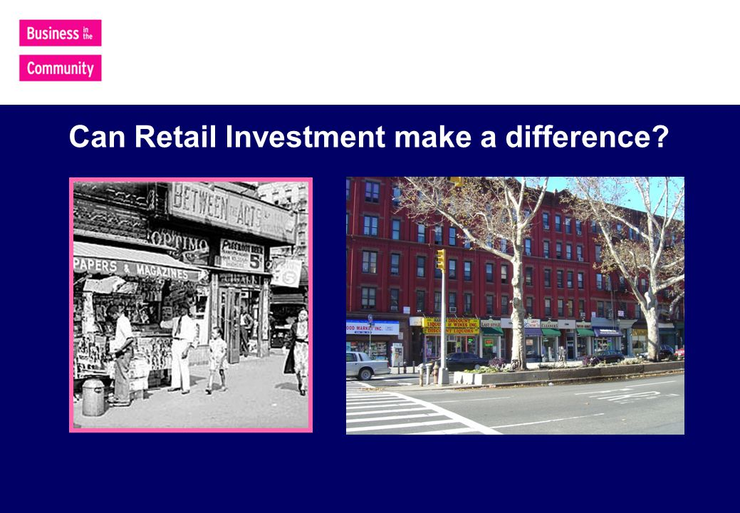 Can Retail Investment make a difference