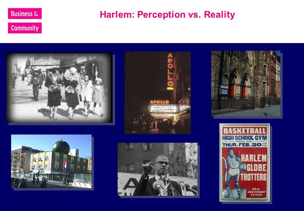 Harlem: Perception vs. Reality