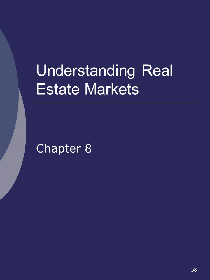 58 Understanding Real Estate Markets Chapter 8