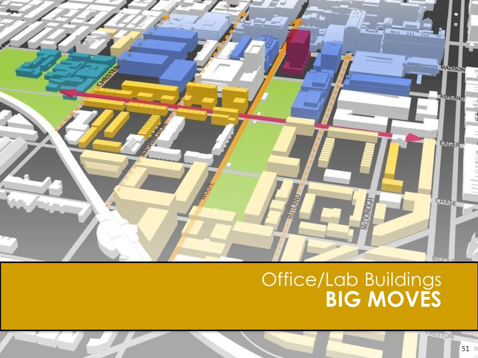 BIG MOVES Office/Lab Buildings 51