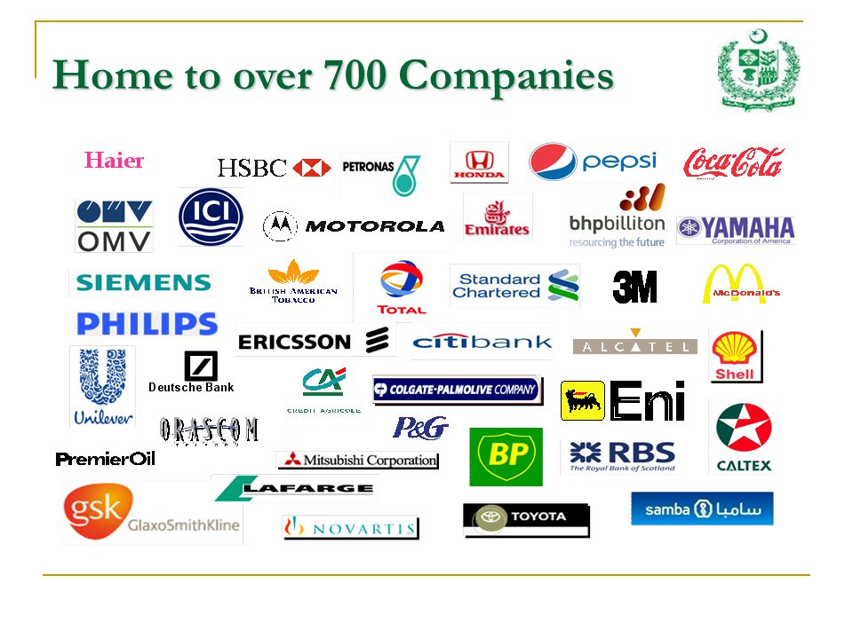 Home to over 700 Companies
